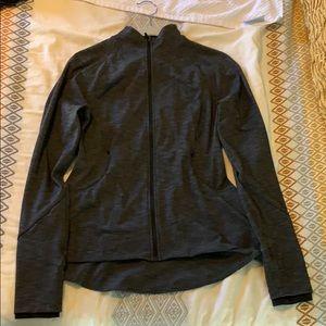 Lululemon Charcoal Grey Jacket - Peplum Style
